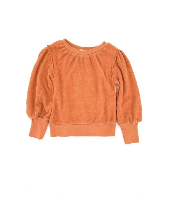 Long Live The Queen Puffed sweater - fazant