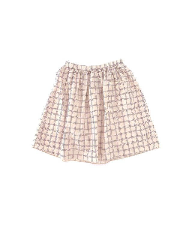 Long Live The Queen Skirt - purple check
