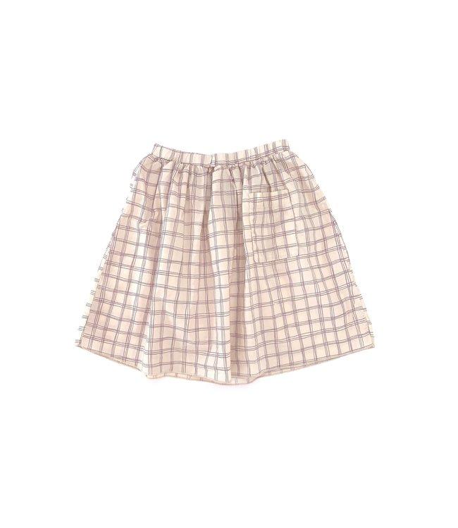 Skirt - purple check
