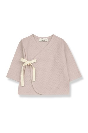 1+inthefamily Annie newborn t-shirt - nude