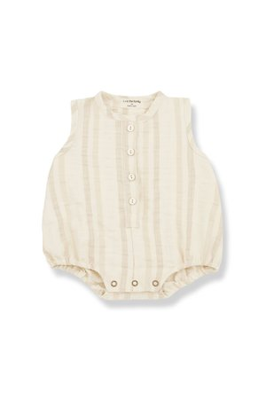 1+inthefamily Simon romper - natural