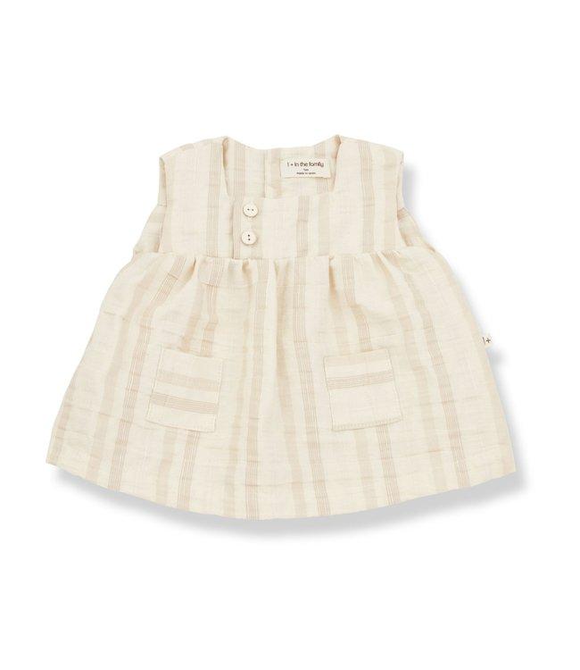 1+inthefamily Silvia dress - natural