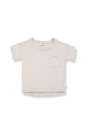 1+inthefamily Nani short sleeve t-shirt - stone