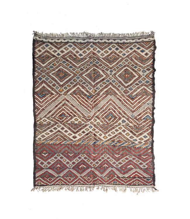 Couleur Locale Kelim tapijt Marokko #13
