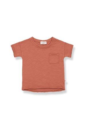 1+inthefamily Nani short sleeve t-shirt - rooibos