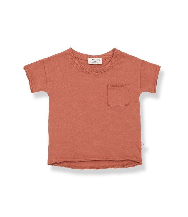 Nani short sleeve t-shirt - rooibos