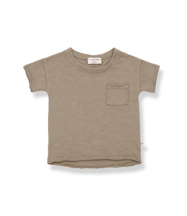 1+inthefamily Nani short sleeve t-shirt - khaki
