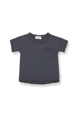 1+inthefamily Nani short sleeve t-shirt - anthracite