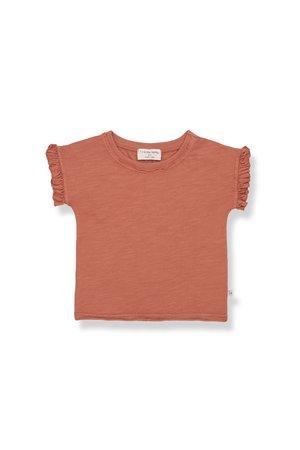 1+inthefamily Mireia short sleeve t-shirt - rooibos