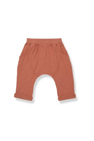 1+inthefamily Tommy baggy pants - rooibos