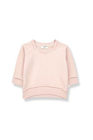1+inthefamily Tristan sweatshirt - rose