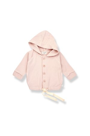 1+inthefamily Otto hood jacket - rose