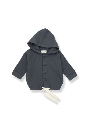 1+inthefamily Otto hood jacket - anthracite