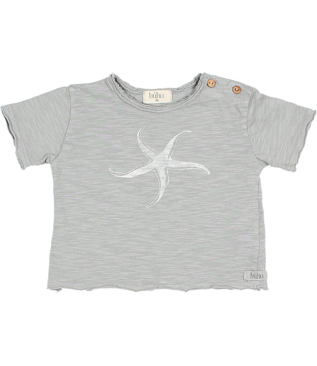 "Buho Baby ""starfish"" t-shirt - cloud"