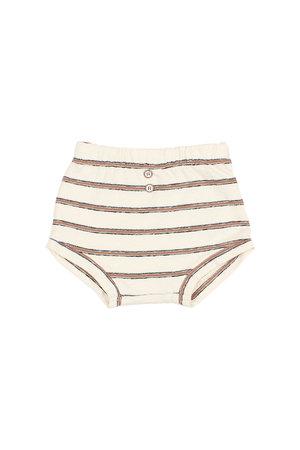 "Buho Jersey ""navy stripes"" bloomer - cocoa"