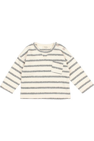 "Buho Baby ""navy stripes"" sweater - cloud"