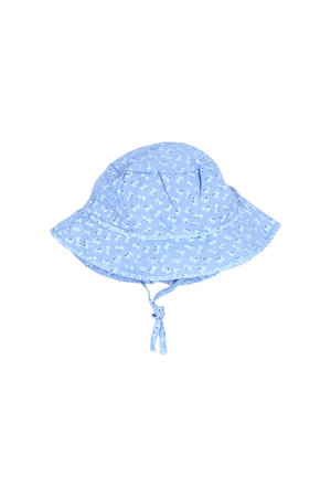 "Buho Baby ""seed"" hat - blue surf"