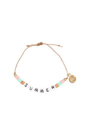 Buho bracelet summer - only
