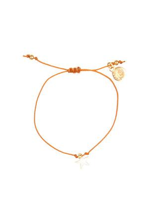 Buho bracelet star - cocoa