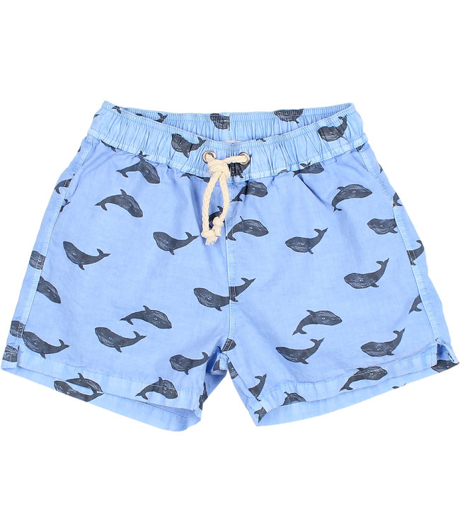"Buho ""Whale"" swimsuit - blue surf"