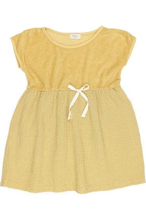 Buho Dots & terry combi dress - sun