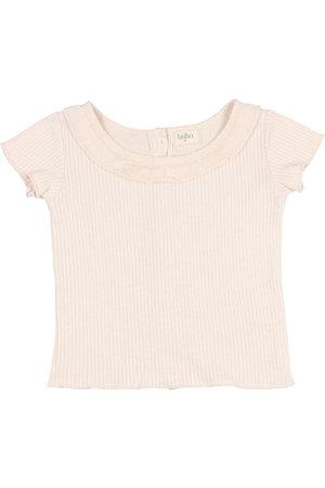 Buho Kids soft rib t-shirt - rose
