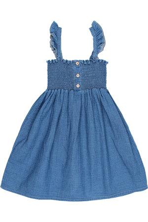 Buho Kids denim dress - indigo