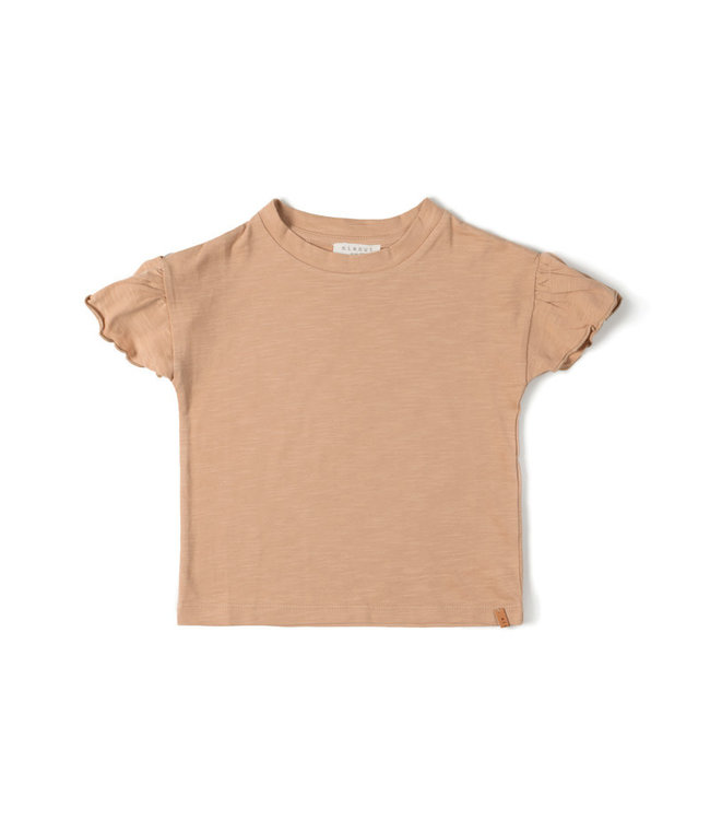 Nixnut Fly tshirt - nude