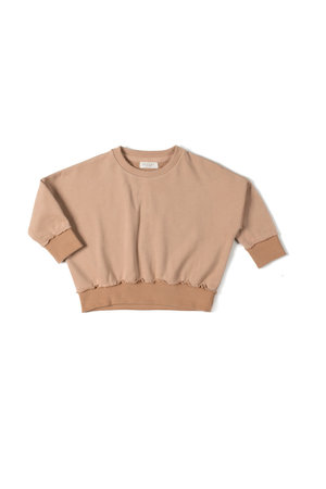 Nixnut Loose sweater - nude