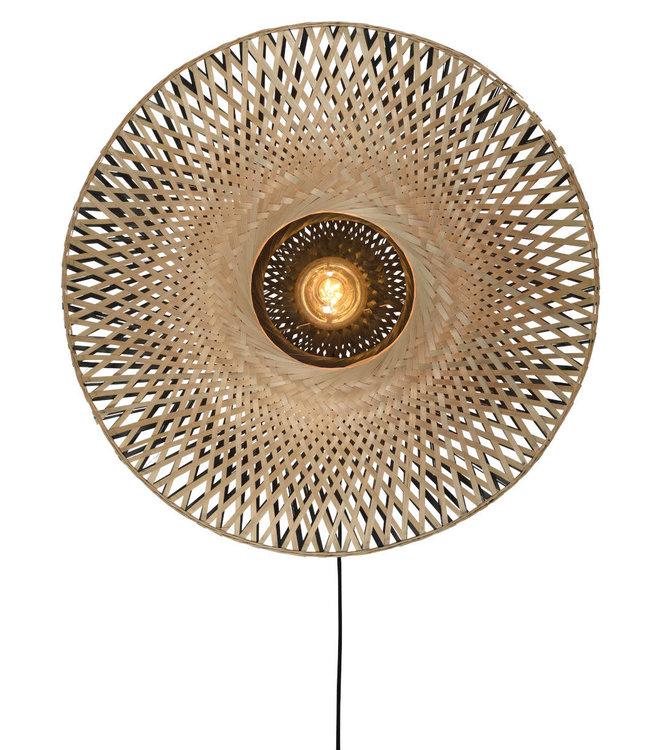 Kalimantan wandlamp bamboe