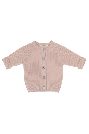 Phil & Phae Cashmere-blend baby cardigan - blossom
