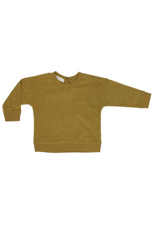 Phil & Phae Frotté baby sweater - pear