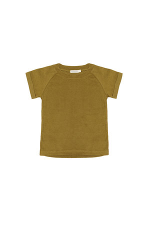 Phil & Phae Frotté raglan top - pear
