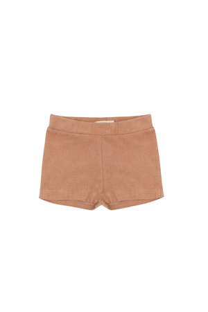 Phil & Phae Frotté shorts - warm biscuit