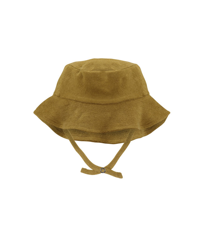 Phil & Phae Frotté sun hat - pear