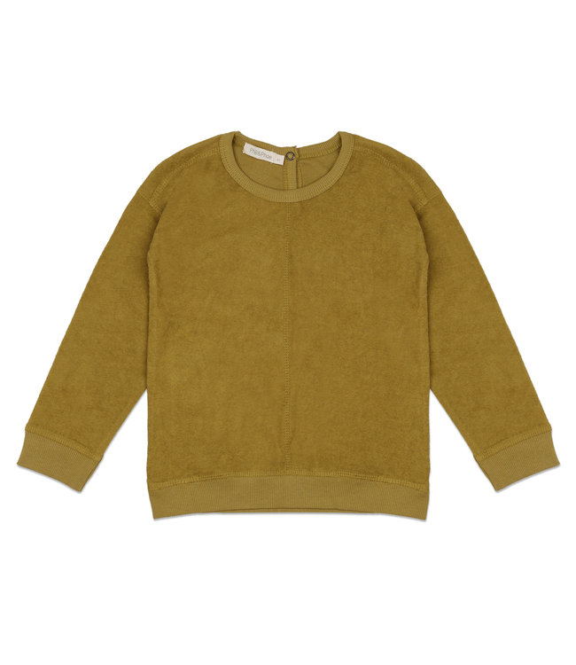 Phil & Phae Frotté sweater - pear