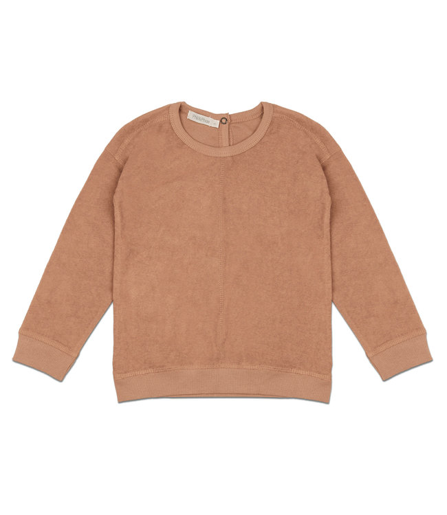 Phil & Phae Frotté sweater - warm biscuit