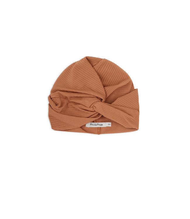Phil & Phae UV bonnet - terra