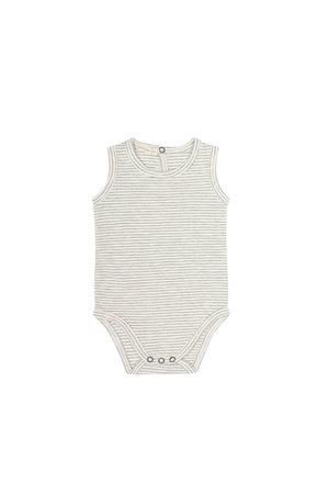 Phil & Phae Sleeveless body stripes - vanilla stripe