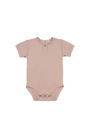 Phil & Phae Henley body short sleeve - vintage blush