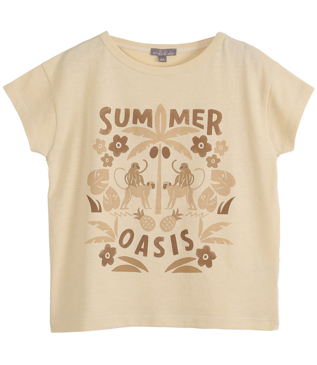 Tee shirt - vanille summer