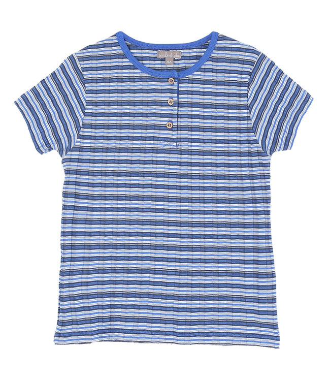 Emile et ida Tee shirt - raye bleu