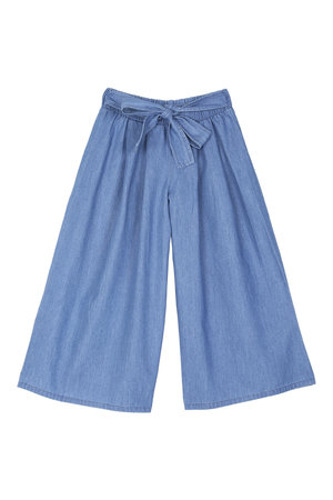 Emile et ida Pantalon wide - chambray