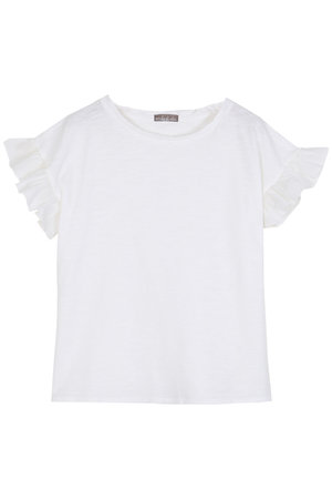 Emile et ida Tee shirt short sleeves - ecru