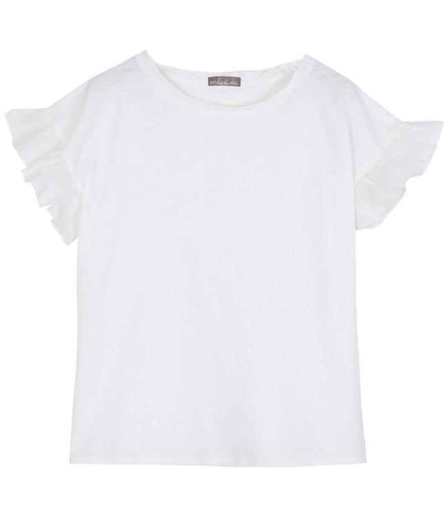 Emile et ida Tee shirt short sleeves - ecru