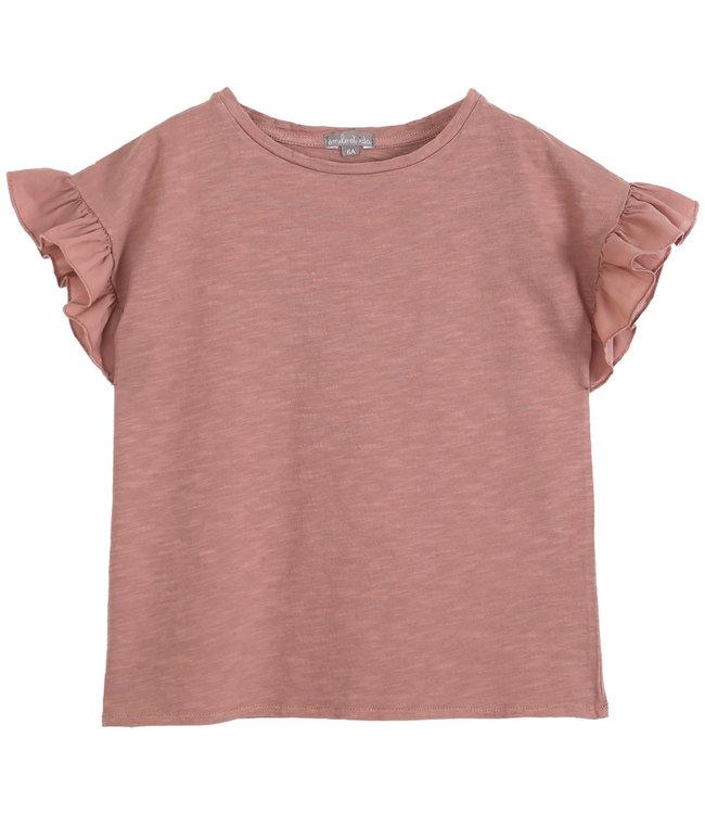 Emile et ida Tee shirt short sleeves - terre