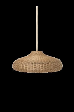 Ferm Living Braided disc lamp shade - natural