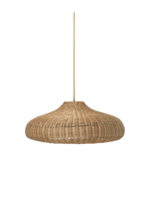 Ferm Living Gevlochten rotan lamp - naturel