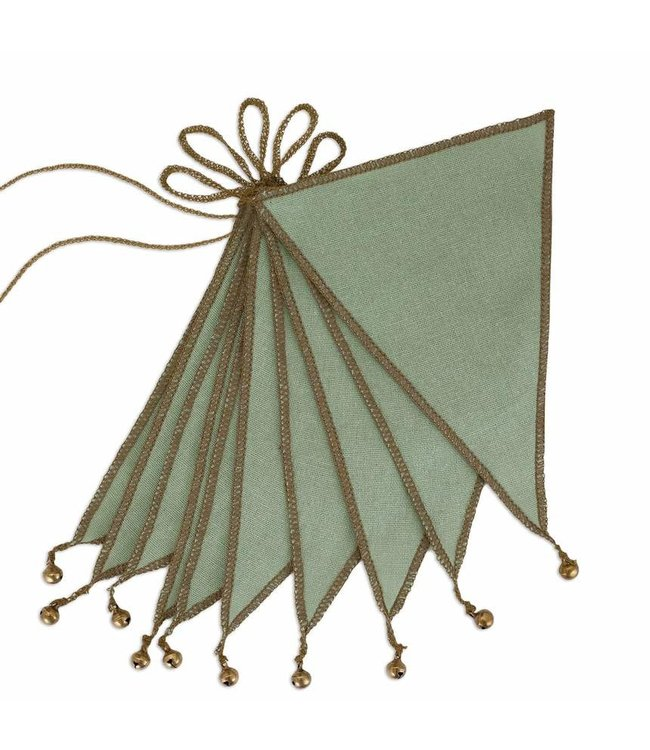Numero 74 Bunting garland one size - Sage green