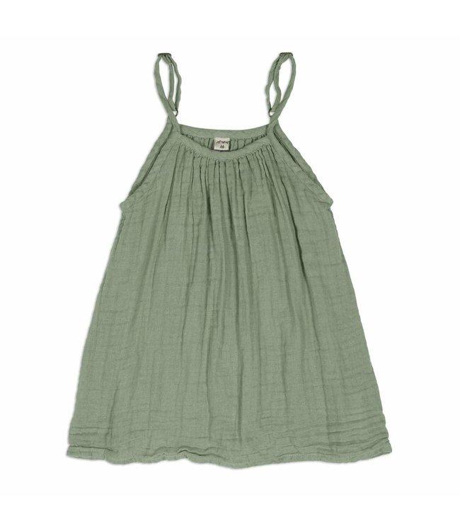 Mia dress -  sage green